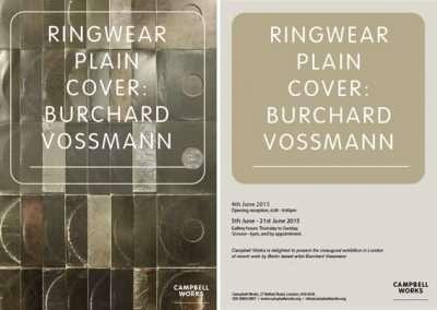 Ringwear Plain Cover – Burchard Vossmann