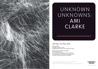 Ami Clarke – Unknown Unknowns