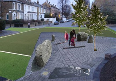 Brooke Road public realm project