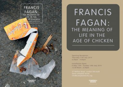 Francis Fagan: The Meaning of Life in the Age of Chicken